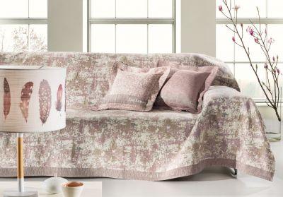 Ριχτάρι τετραθέσιου καναπέ LOBBY OLD PINK 350x180