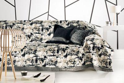 Ριχτάρι τριθέσιου καναπέ LOBBY BLACK&WHITE 300x180