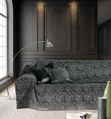 Ριχτάρι τετραθέσιου καναπέ VENUS BLACK 170x350