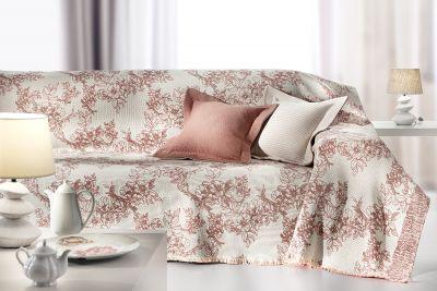 Ριχτάρι τριθέσιου καναπέ GENOA CORAL 300x180