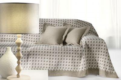 Ριχτάρι τριθέσιου καναπέ SAN MARCO MOCCA 300x180