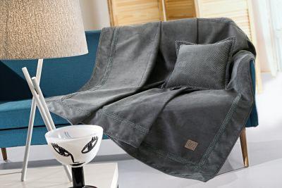 Ριχτάρι τριθέσιου καναπέ RUBICON ANTHRACITE 170x300