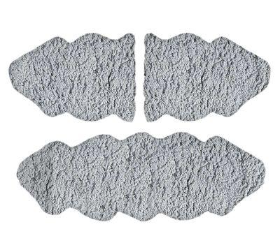 Χαλάκι Sheepskin Silver 60x200