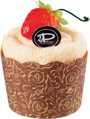 Γλυκά που δεν παχαίνουν ... Cupcake Strawberry
