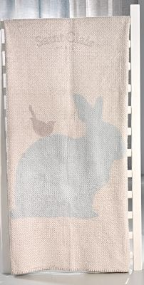 Κουβέρτα Ultrasoft Lapin Blue 110x140