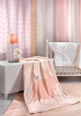 Κουβέρτα Ultrasoft Lapin Pink 110x140