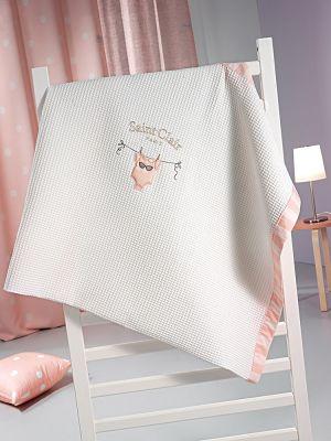Κουβέρτα Audrey Πικέ 110x150