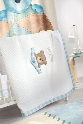 Κουβέρτα Teddy Sky Πικέ 110x150
