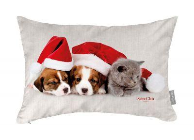 Χριστουγεννιάτικο Μαξιλαράκι Cushion 4007 30x45 με γέμιση