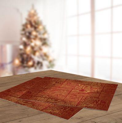 Χριστουγεννιάτικο Sous Plat SAINT CLAIR 3016, 45x33