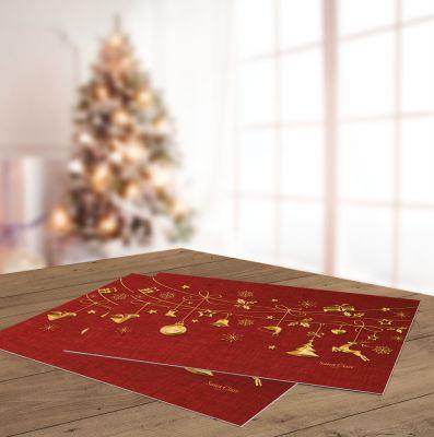 Χριστουγεννιάτικο Sous Plat 3018 45x33