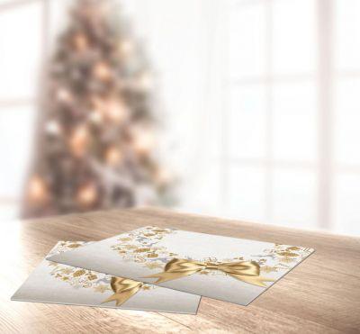 Χριστουγεννιάτικο Sous Plat SAINT CLAIR 3030, 45x33