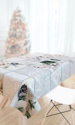 Χριστουγεννιάτικο Τραπεζομάντηλο SAINT CLAIR 2031 145x145