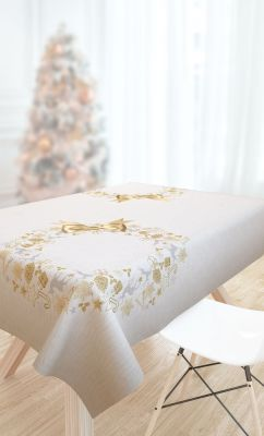 Χριστουγεννιάτικο Τραπεζομάντηλο SAINT CLAIR 2032 145x145