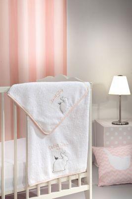 Σετ Πετσέτες 2 τεμαχίων Lapin Pink 40x60-65x120