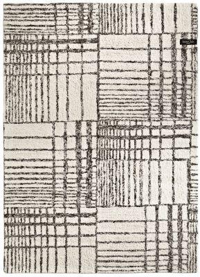 Χαλί Sabri Black-White 190x290