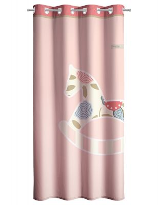 Κουρτίνα Toy Pink 165x250 Soft Touch