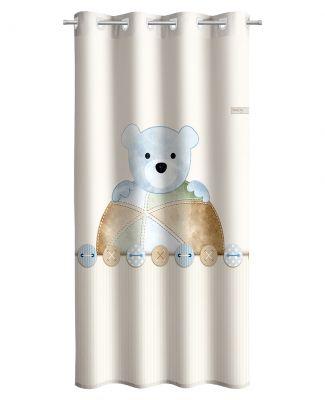 Κουρτίνα Teddy Sky 165x250 Soft Touch