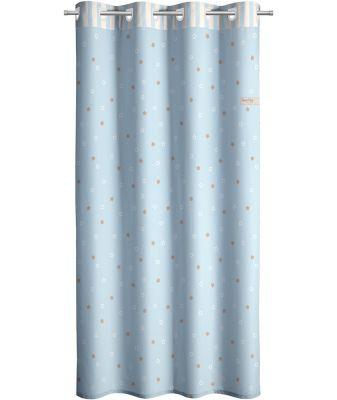 Κουρτίνα Starlight Blue 165x250 Soft Touch