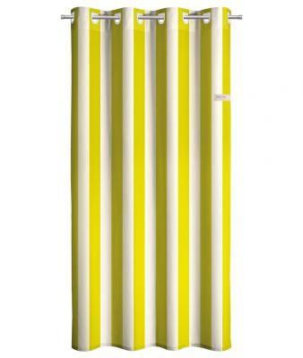 Κουρτίνα Lime Stripes 165x250 Soft Touch