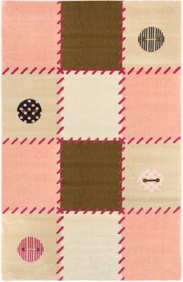 Χαλί Patchwork Pink 115x175