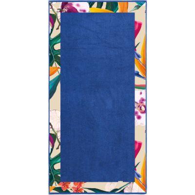 Πετσέτα Θαλάσσης Topless Blue 85x175